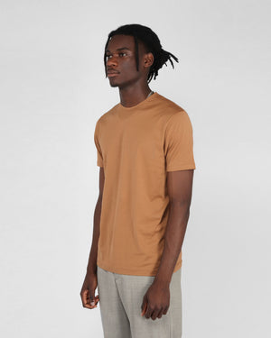 S/S CREW NECK T-SHIRT / NUTMEG