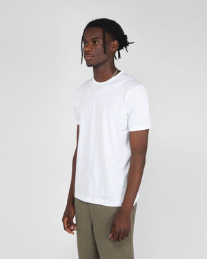 S/S CREW NECK T-SHIRT / WHITE