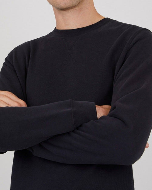 LOOPBACK SWEATSHIRT / BLACK