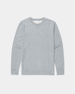SWEATSHIRT / GREY MELANGE