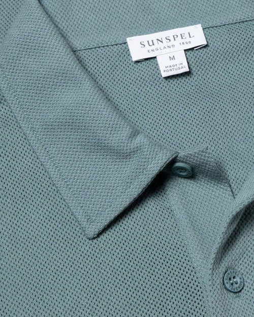 S/S RIVIERA POLO / DOVE GREY