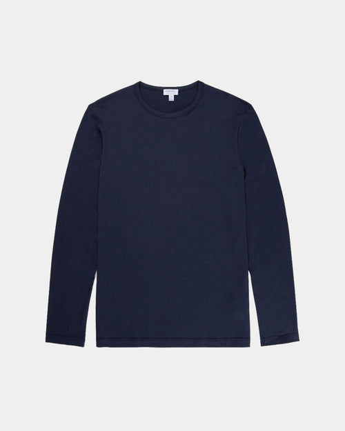 LONG SLEEVE T-SHIRT / NAVY