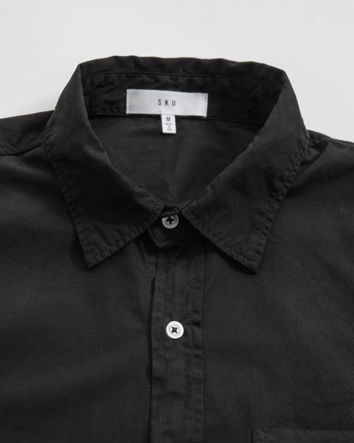 MEN'S POPLIN EASY SHIRT / SLATE