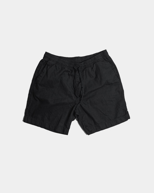 MEN'S LIGHT TWILL EASY SHORT / BLACK