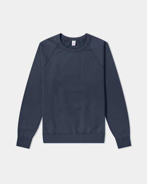 MEN'S SUPIMA CREW SWEATSHIRT / NAVY