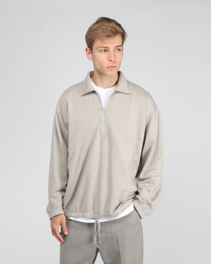 MEN'S SUPIMA QUARTER ZIP / EARTH