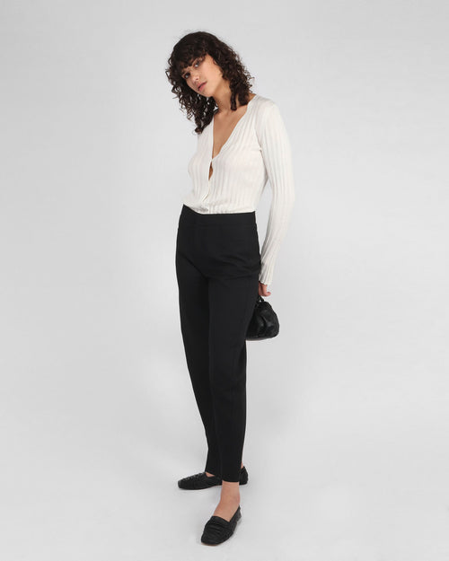 NOVARA TROUSERS / BLACK