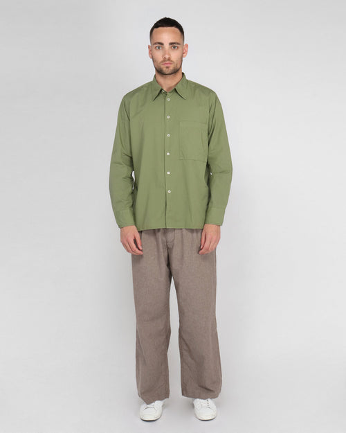 BIG POCKET SHIRT / OLIVE