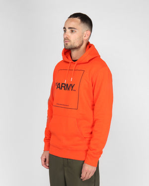 BOX LOGO HOODIE / VIBRANT ORANGE