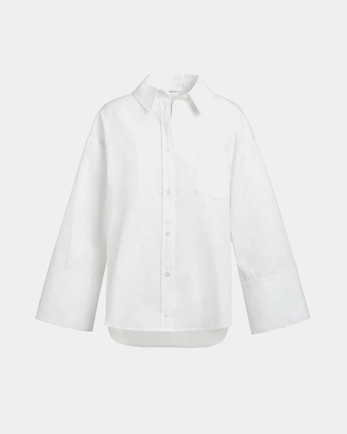 ALLIE SHIRT / WHITE