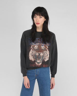 TIGER SWEATSHIRT / BLACK