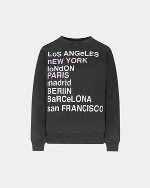 AB CITY LOVE SWEATSHIRT / CHARCOAL