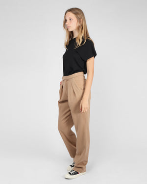 JAMES TROUSER / CAMEL