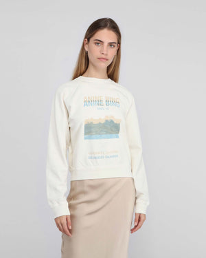 ARLO SWEATSHIRT DESERT ROAD / WHITE