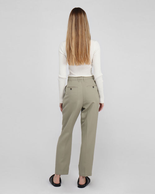 MYCAH TROUSER / GREEN KHAKI