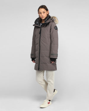 WMN'S KENTON PARKA BLACK LABEL  / COASTAL GREY