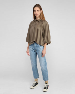 EMERY HIGH RISE RELAXED CROP / TULAROSA