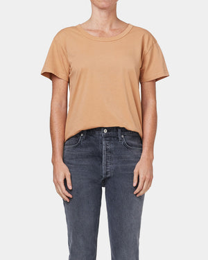BETTY RELAXED T-SHIRT / TOAST