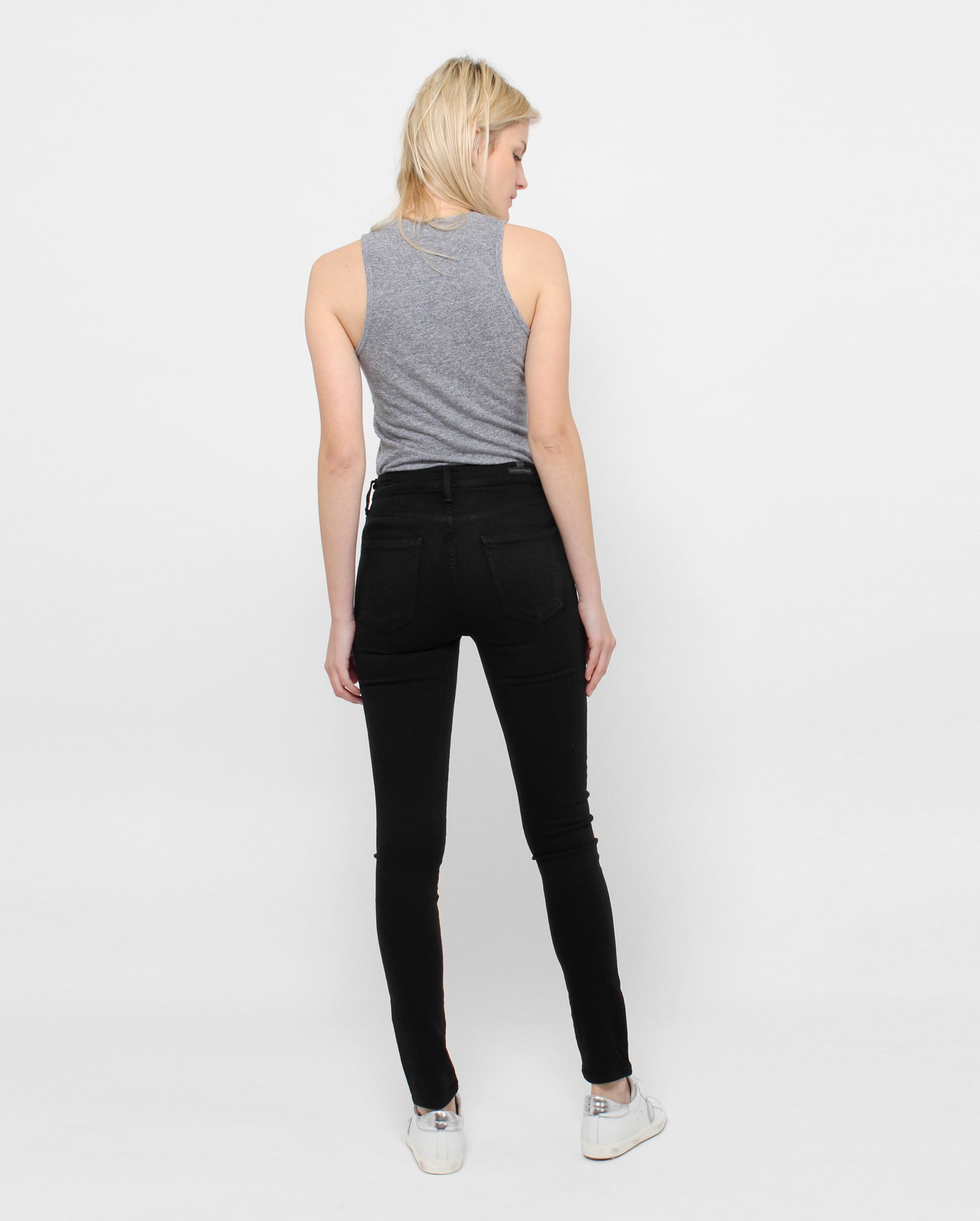 ROCKET HIGH RISE SKINNY / ALL BLACK