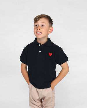 KIDS POLO SHIRT T505 / NAVY