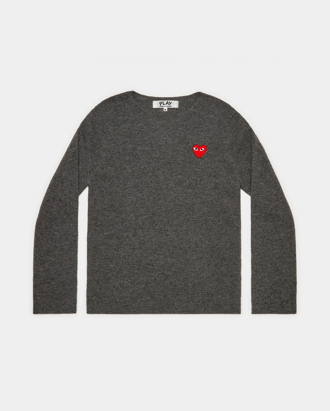 N067 CREW NECK JUMPER / GREY