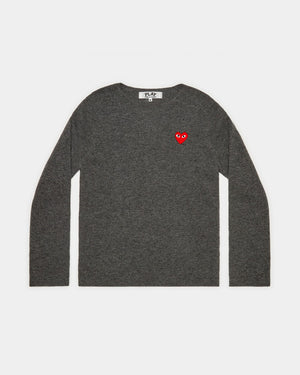 WMN'S N067 CREW NECK JUMPER / GREY