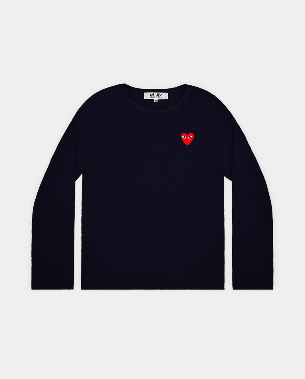 N067 CREW NECK JUMPER / NAVY