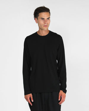 LONG SLEEVE TEE S27111 / BLACK