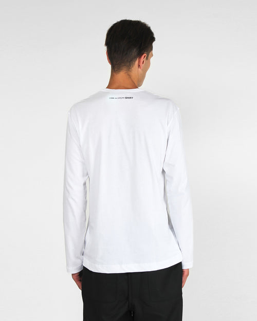 LONG SLEEVE TEE S27111 / WHITE