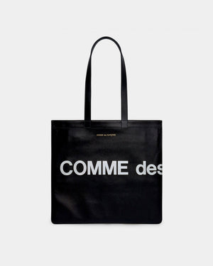 HUGE LOGO TOTE BAG / BLACK