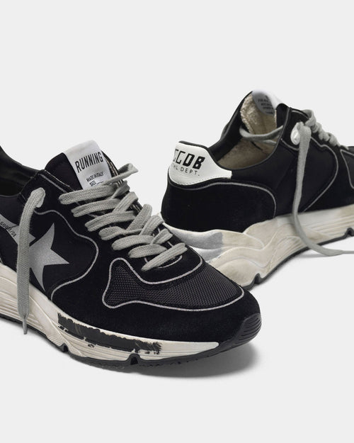 RUNNING SOLE / BLACK SILVER