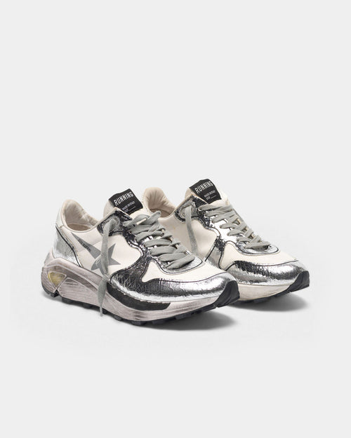 RUNNING SOLE / WHITE SILVER