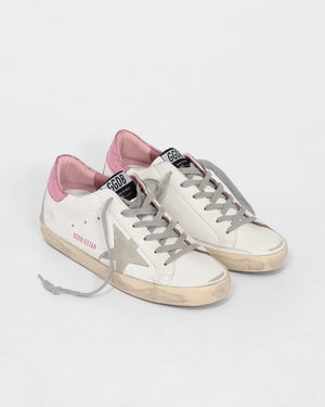 SUPERSTAR SNEAKER / WHITE ICE PINK