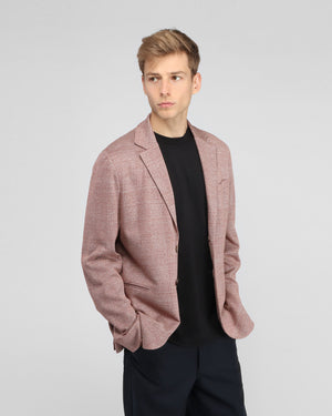 JET POCKET BLAZER / RED