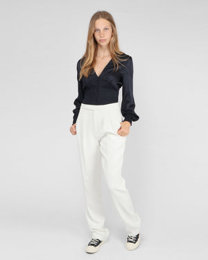 JAMES TROUSER AB X HC / WHITE