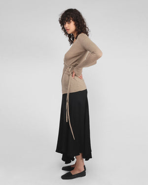 LEVEL SKIRT / BLACK