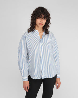 SERENE SHIRT / BLUE STRIPE