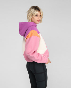 SUSANE SWEATSHIRT / PURPLE PINK