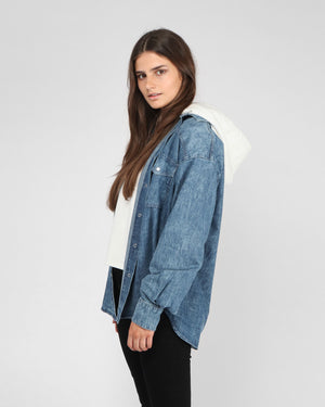 INOL DENIM SHIRT / STRONG BLUE