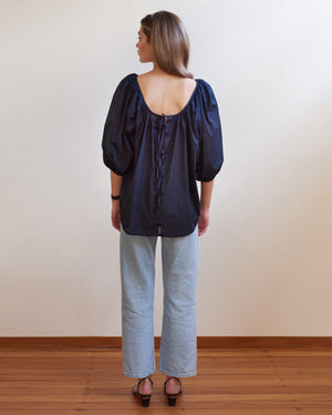 BALLET BLOUSE / NAVY