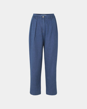ATZUKO TROUSERS / INDIGO BLUE