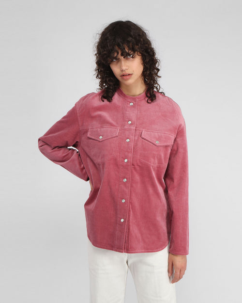SIMONIE SHIRT / DARK POWDER PINK