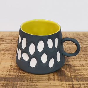 Open image in slideshow, Handmade Charcoal Porcelain Mug