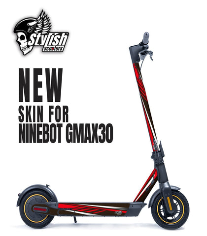 Vinilo para Ninebot Max G30 kit stickers - Stylish Scooters