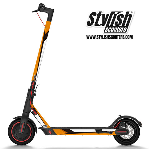 Vinilo para scooter Xiaomi m365 Sport Orange - Stylish Scooters