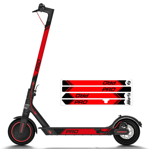 Vinilo Reflectante para Xiaomi m365 Pro Red - Stylish Scooters