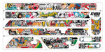 Vinilo Sticker Bomb para scooter Xiaomi m365 - Stylish Scooters
