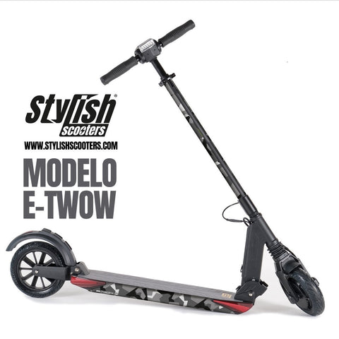 Vinilos para patiene electrico E-twow booster - Stylish Scooters