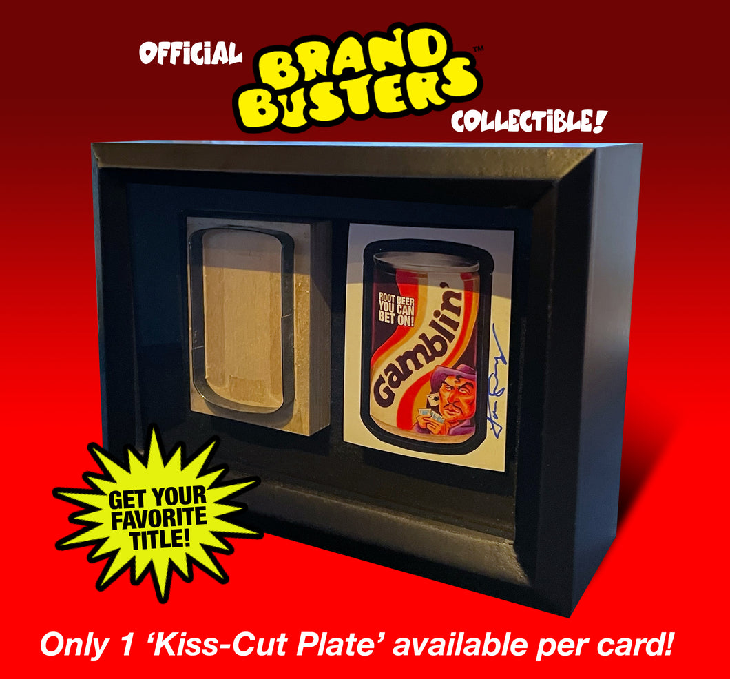 Brand Busters Shadowbox Collectible (Gamblin)