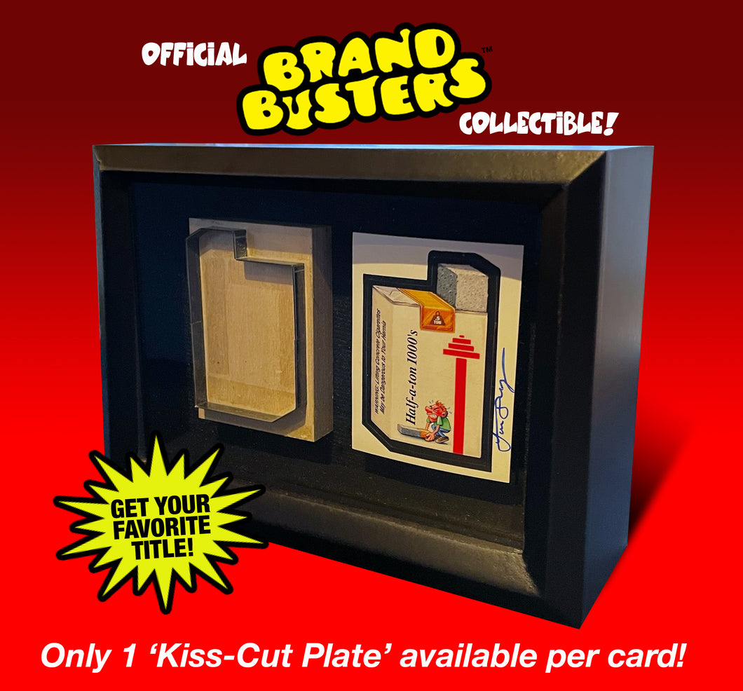 Brand Busters Shadowbox Collectible (Half-A-Ton)
